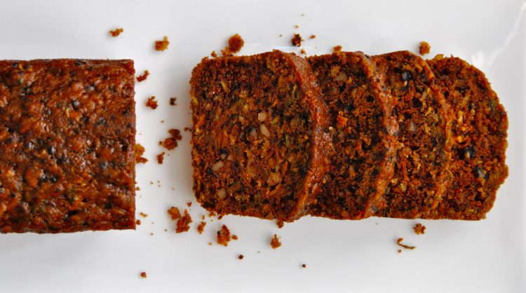 Sweet Potato and Zucchini Bread