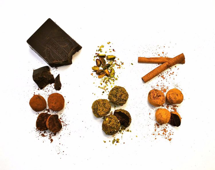 Chocolate Truffles, Three Ways