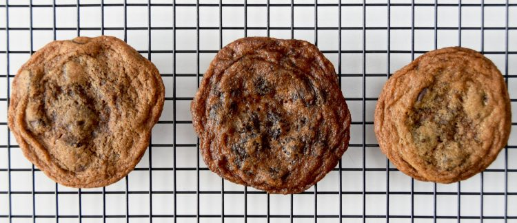 Chocolate Chip Cookies: all purpose flour or gluten free