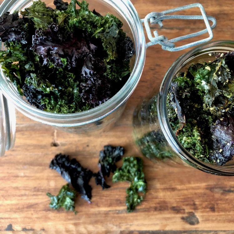 Kale Chips (so easy!)