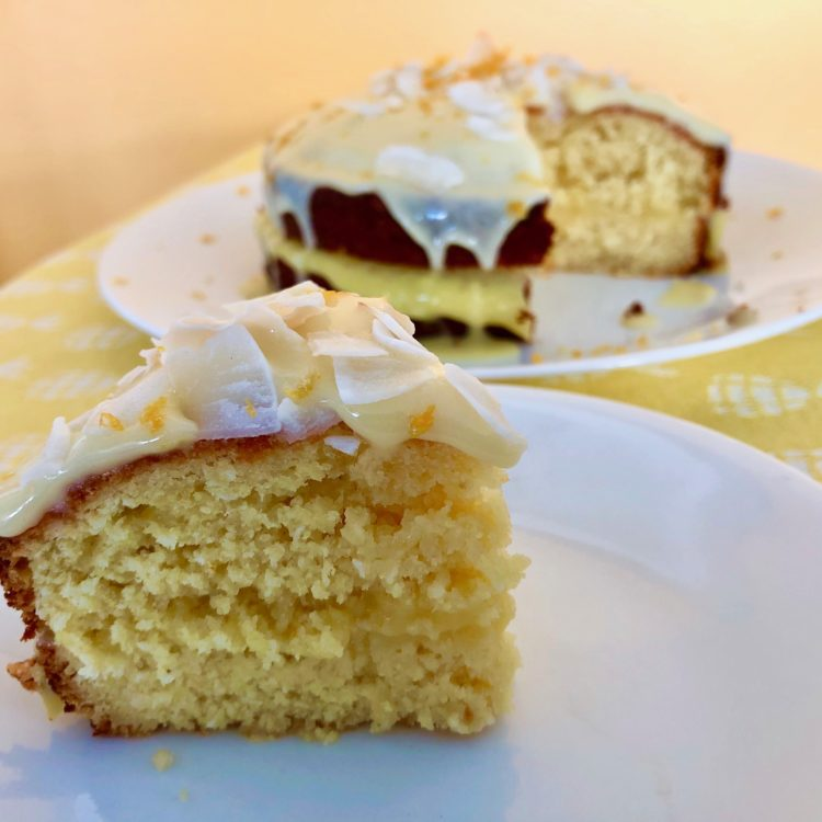 Passion Fruit and Coconut Cake, courtesy of Edd Kimber